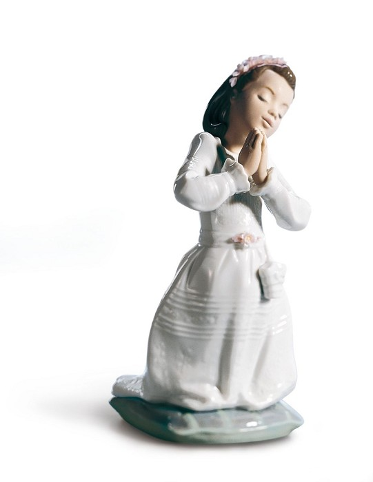Lladro Communion Prayer (Girl)