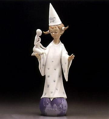 LladroVirgoPorcelain Figurine