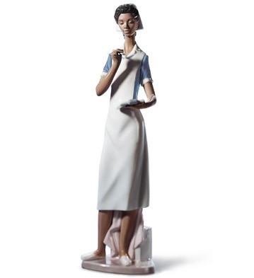 LladroMAKING ROUNDSPorcelain Figurine