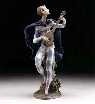 Lladro Serenading Colombina