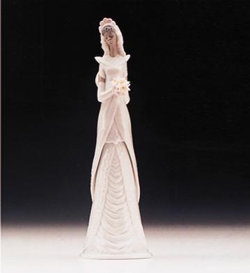 LladroBridal BellPorcelain Figurine