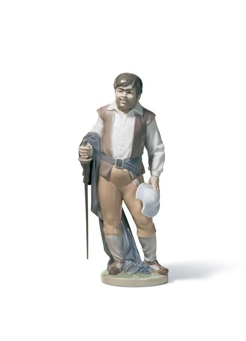LladroSanchoPorcelain Figurine