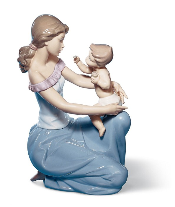 Lladro One for You one for Me Porcelain Figurine