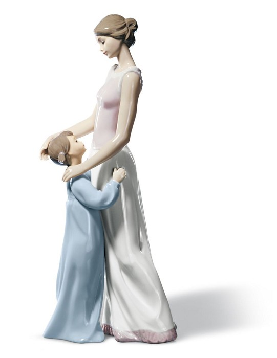 Lladro Someone to Look up to Porcelain Figurine