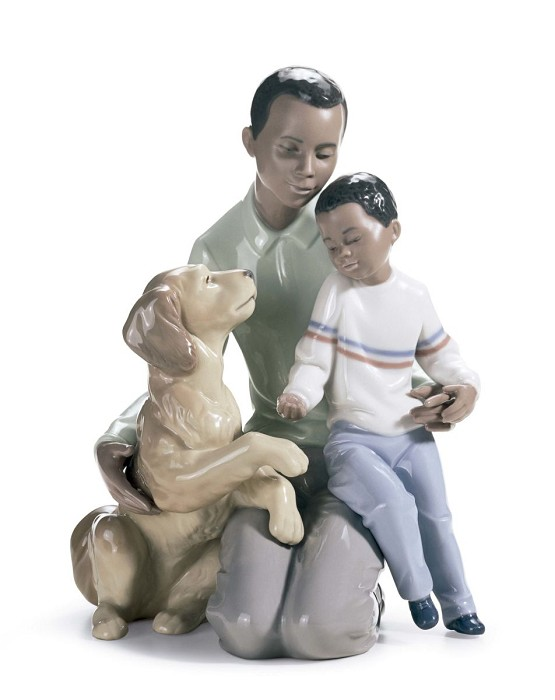 Lladro A Moment To Remember Porcelain Figurine