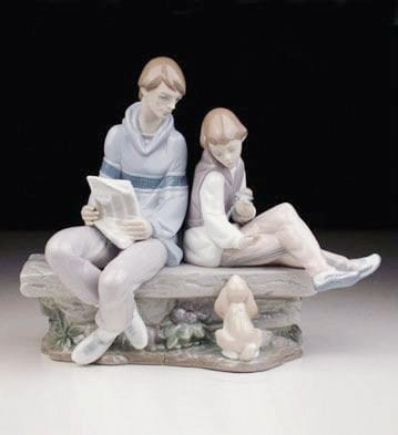 LladroMy Time With DadPorcelain Figurine