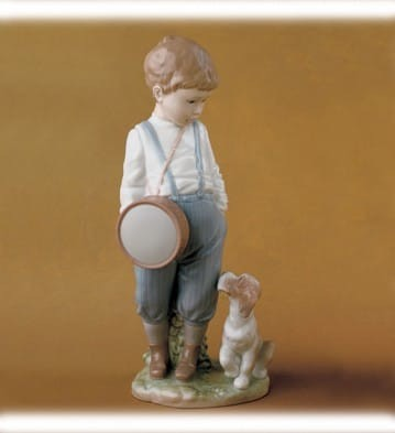 Lladro Friendly Duet Porcelain Figurine