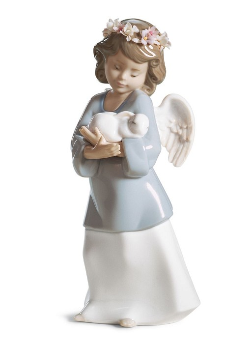 Lladro Heavenly Love Porcelain Figurine
