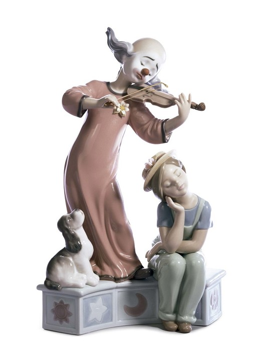 Lladro Music For A Dream Porcelain Figurine