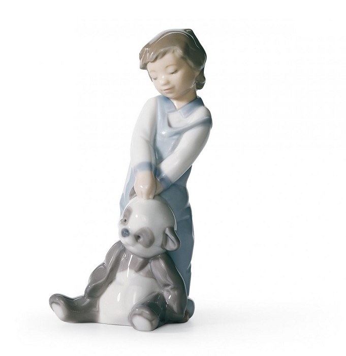 Lladro FIRST DISCOVERIES Porcelain Figurine
