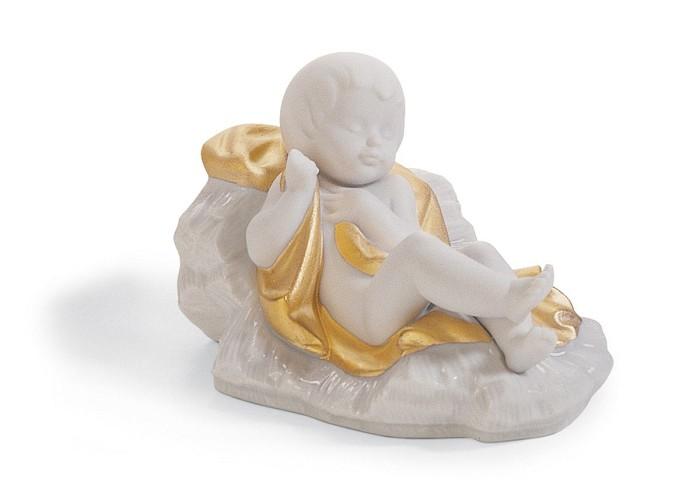 LladroBABY JESUS (RE-DECO)Porcelain Figurine