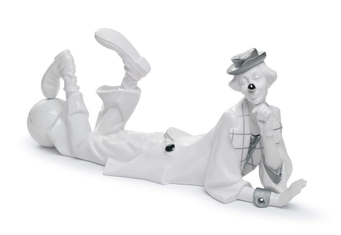 Lladro Clown (Re-Deco)