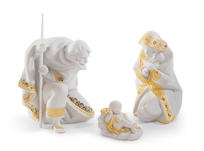 LladroSET SILENT NIGHT (RE-DECO)Porcelain Figurine