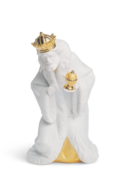 Lladro KING MELCHIOR (RE-DECO) Porcelain Figurine