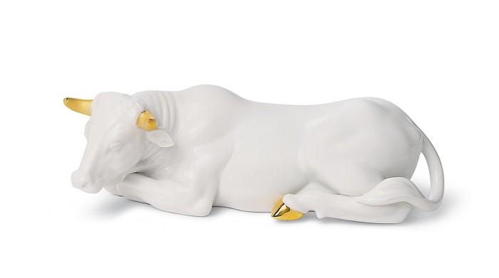 LladroOX (RE-DECO)Porcelain Figurine