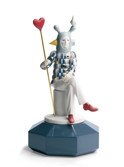 Lladro The Lover III Porcelain Figurine