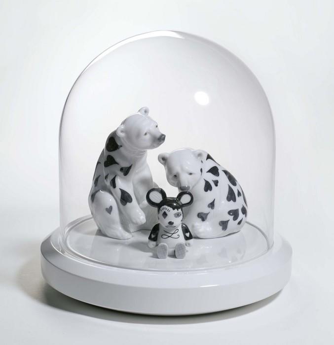 LladroRAINING HEARTSMixed Media Sculpture