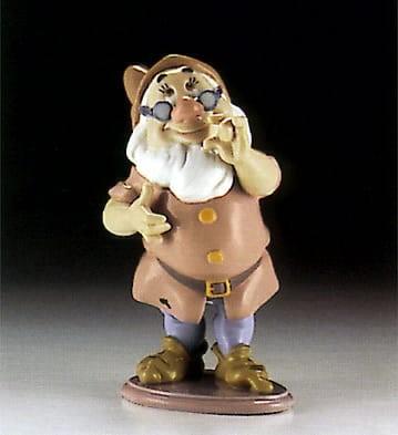 LladroDoc DwarfPorcelain Figurine