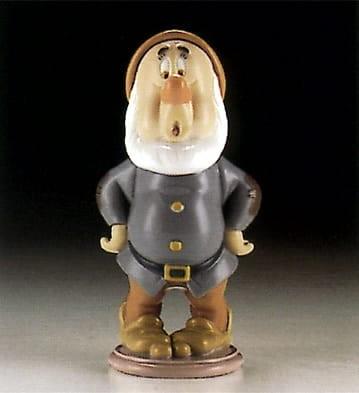 LladroSneezy DwarfPorcelain Figurine