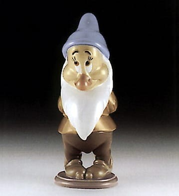 LladroBashful DwarfPorcelain Figurine