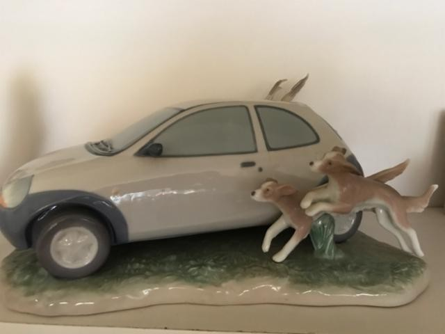 LladroFord KAPorcelain Figurine