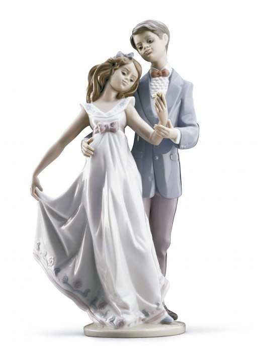 Lladro Now & Forever Porcelain Figurine