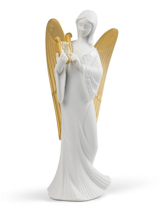Lladro CELESTIAL MELODY (TREE TOPPER) (RE-DECO) Porcelain Figurine