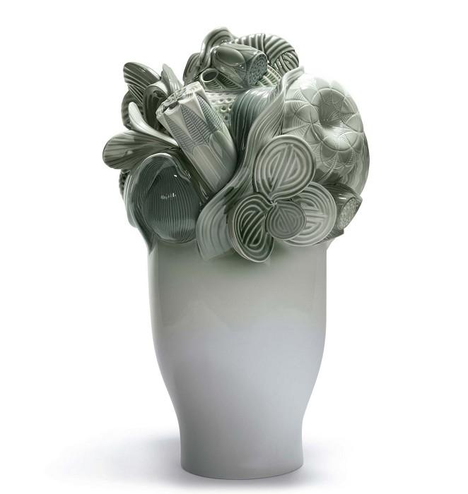 LladroNaturofaantistic - Large Vase (Green)