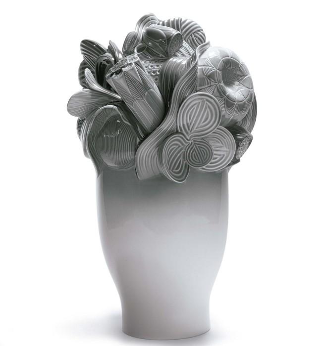 LladroNaturofantastic - Large Vase (Grey)Porcelain Figurine
