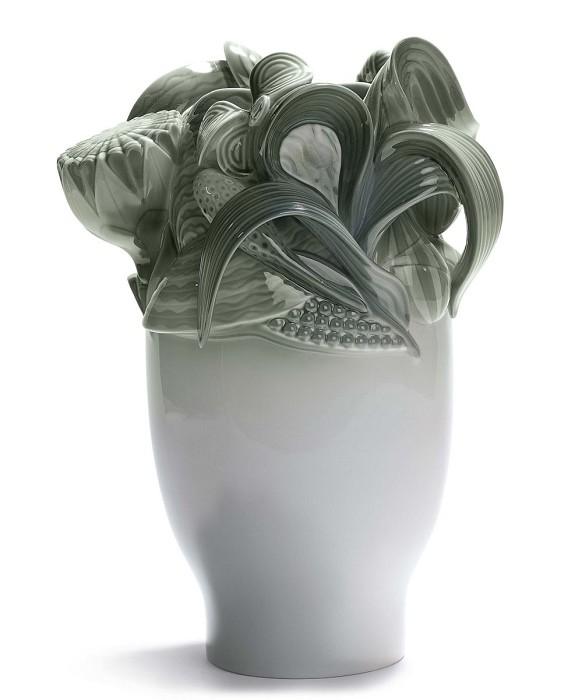 LladroNaturofantastic - Small Vase (Green)