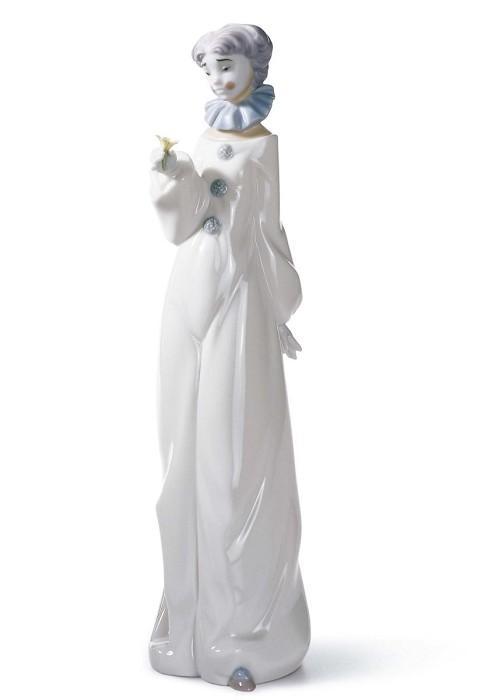 LladroHave A FlowerPorcelain Figurine