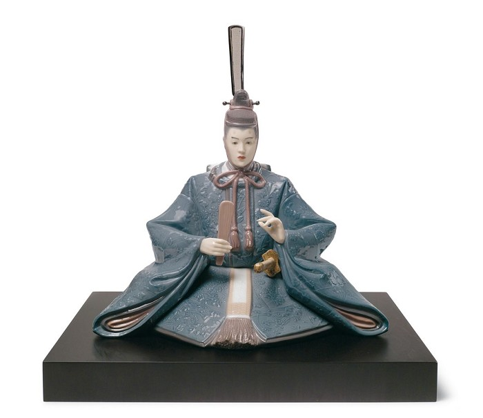 LladroHina Dolls Emperor