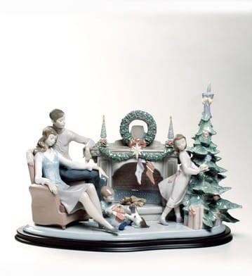 LladroA FAMILY CHRISTMAS