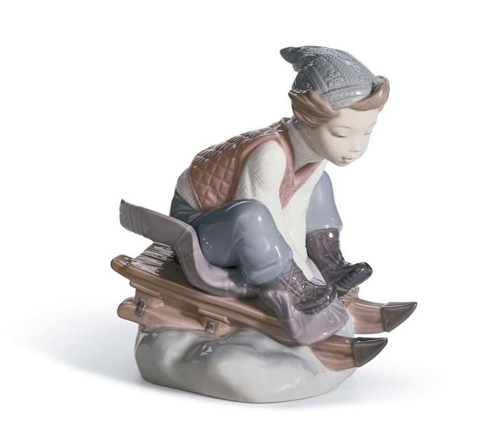 LladroLook Out BelowPorcelain Figurine