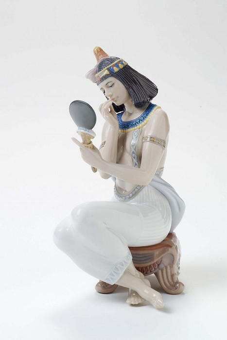 Lladro Reflections of Egypt Porcelain Figurine