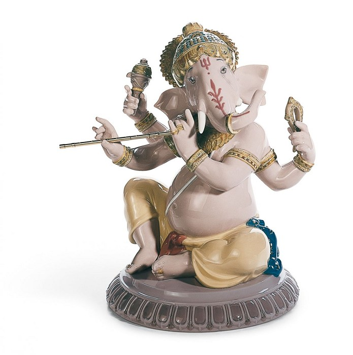 LladroBansuri Ganesha