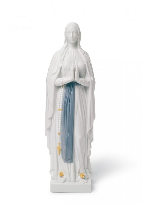 LladroOur Lady of LourdesPorcelain Figurine