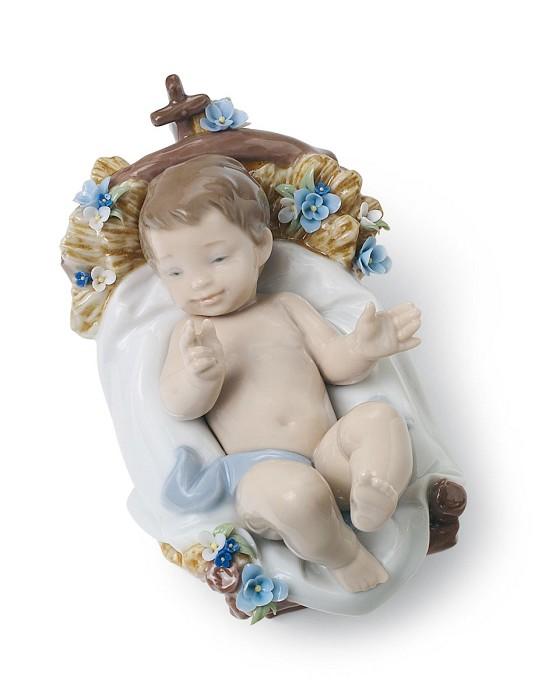 LladroInfant JesusPorcelain Figurine