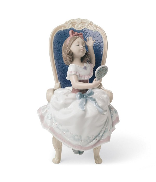 Lladro AWAITING MY SWEETHEART Porcelain Figurine