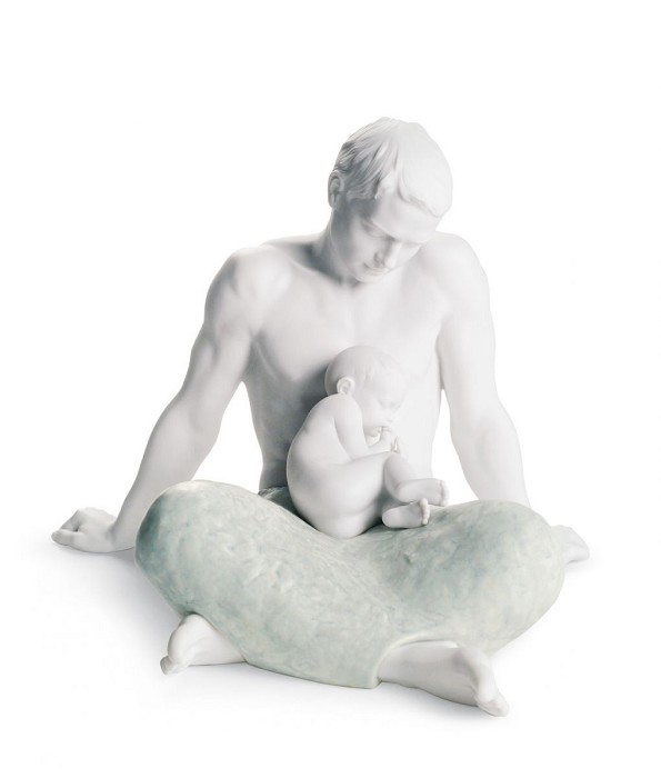 Lladro THE FATHER  Porcelain Figurine