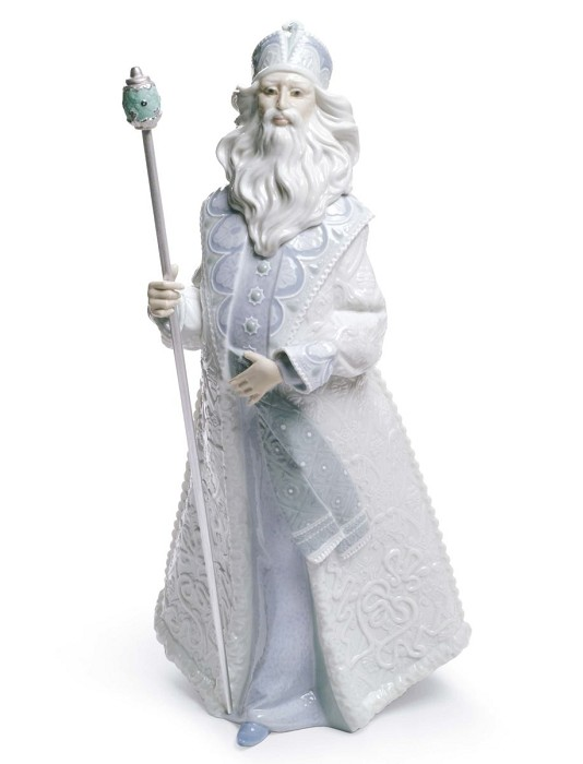 Lladro Father Frost Porcelain Figurine