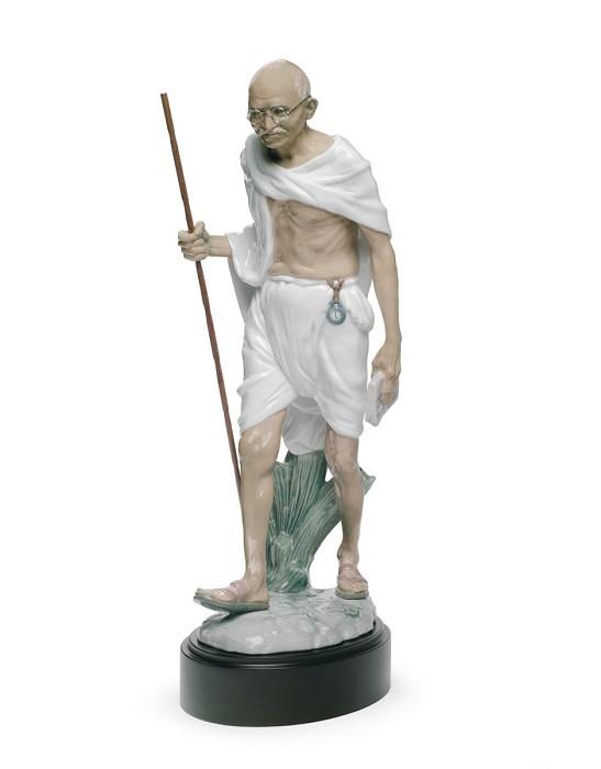 LladroMahatma GandhiPorcelain Figurine