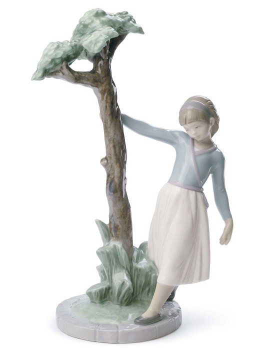 Lladro Tree of Reflections Porcelain Figurine