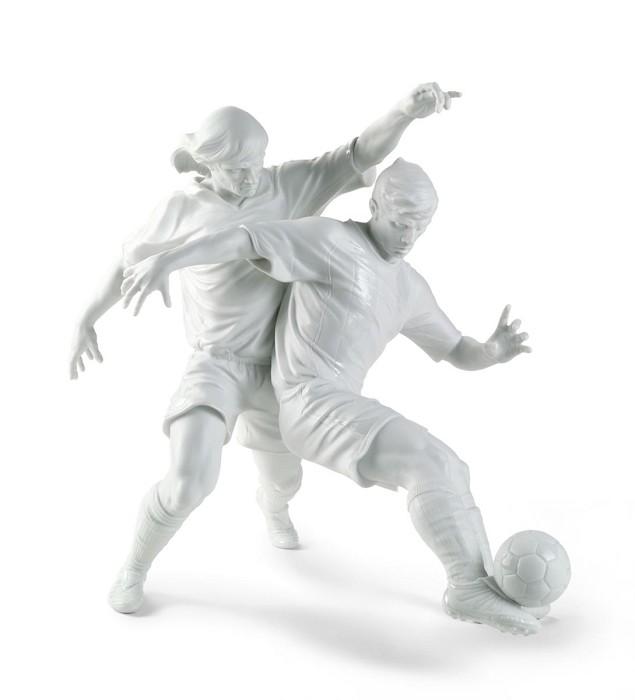 LladroChampions Team FootballersMixed Media Sculpture
