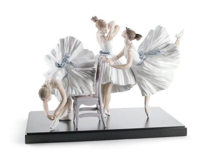 LladroBackstage Ballet
