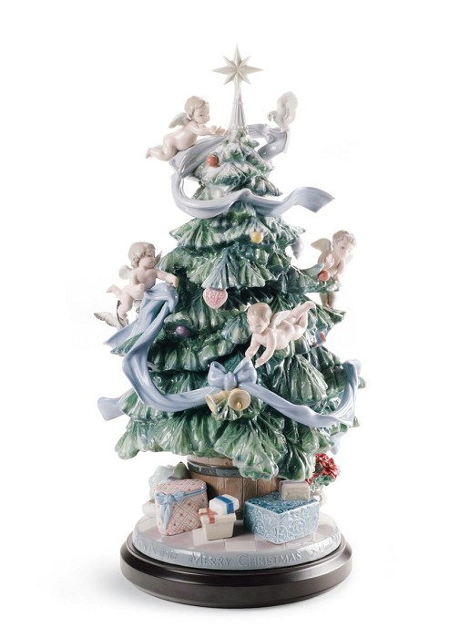 Lladro Great Christmas Tree