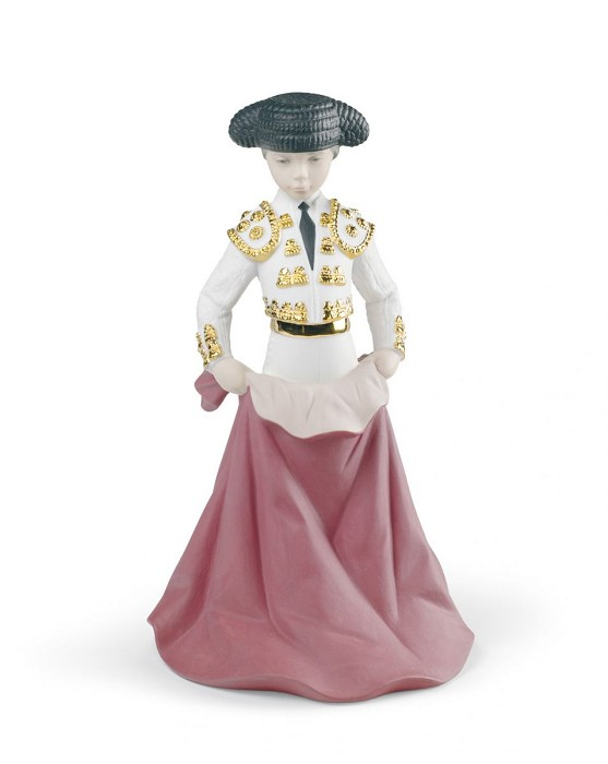 Lladro Young Torero Porcelain Figurine
