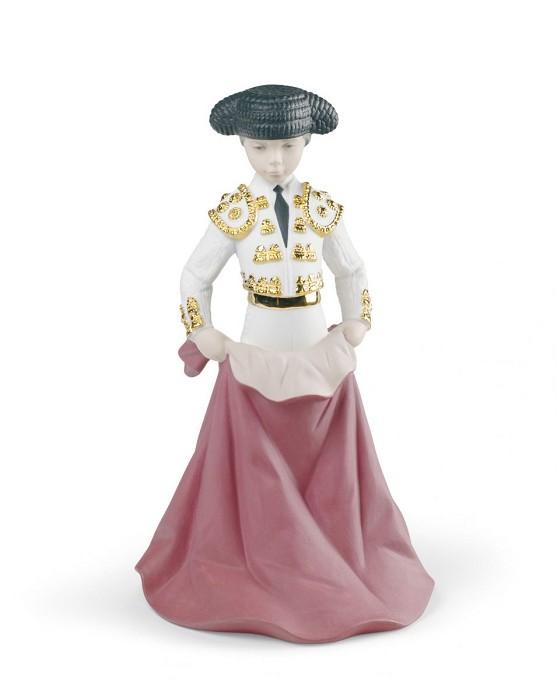 LladroYoung ToreroPorcelain Figurine