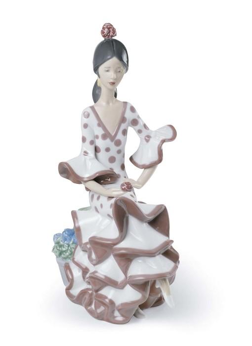 LladroAndalucian DancerPorcelain Figurine