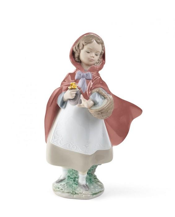 LladroLITTLE RED RIDING HOODPorcelain Figurine